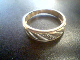 Gent's Gold Ring 10K Yellow Gold 0.75g