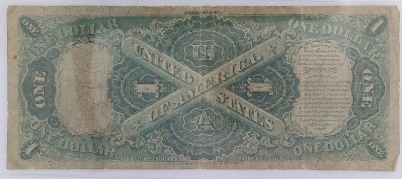 United States F27 1878 $1 Legal Tender in Poor Shape *See PICTURES*