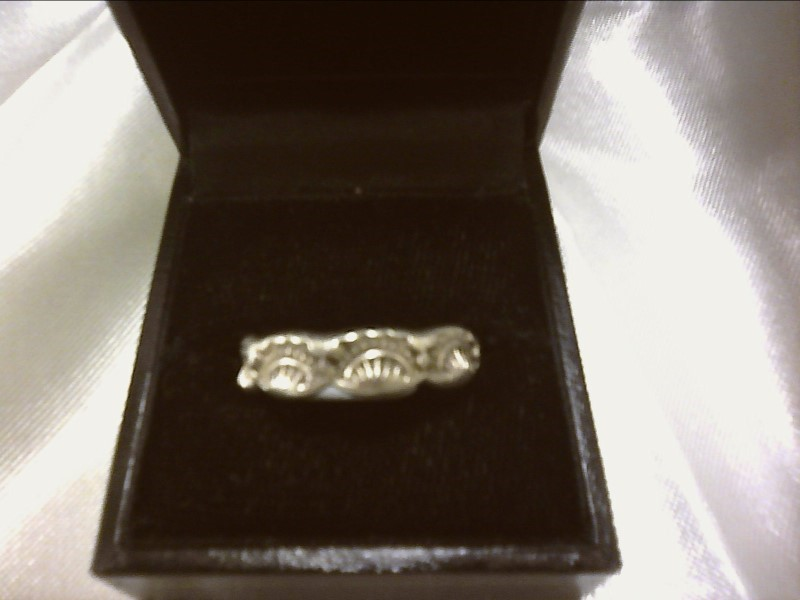 RING JEWELRY JEWELRY, 925, 2.56 DWT; STERLING RING WITH SETTING STONE DESIGN