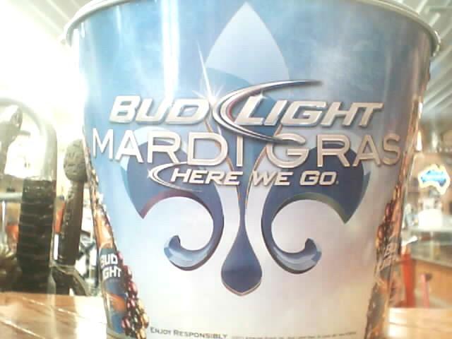 BUD LIGHT ICE BUCKET