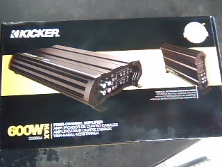 KICKER Car Amplifier 12CX3004