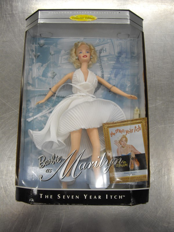 MATTEL Doll BARBIE AS MARILYN THE SEVEN YEAR ITCH