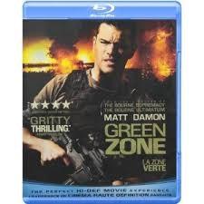 GREEN ZONE ON BLU-RAY