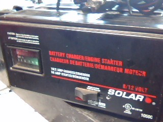 SOLAR Battery/Charger 1050C