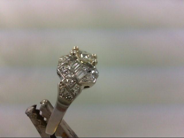 Lady's Platinum-Diamond Wedding Band 35 Diamonds 1.47 Carat T.W. 950 Platinum