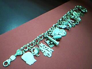 Gold Bracelet 14K Yellow Gold 3.9g