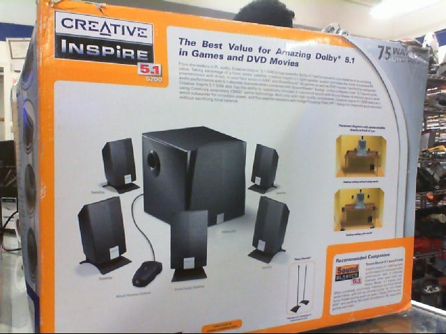 CREATIVE LABS Surround Sound Speakers & System MMS4250