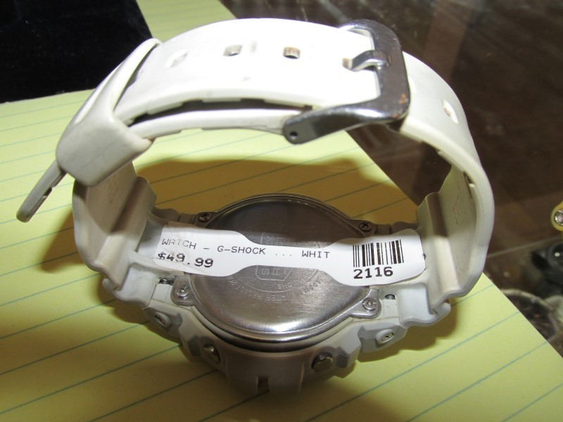 CASIO Gent's Wristwatch G-SHOCK