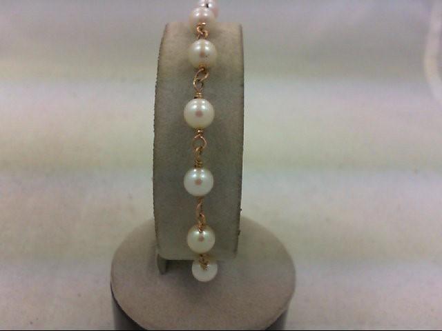 Gold Bracelet 14K Yellow Gold 4.9g