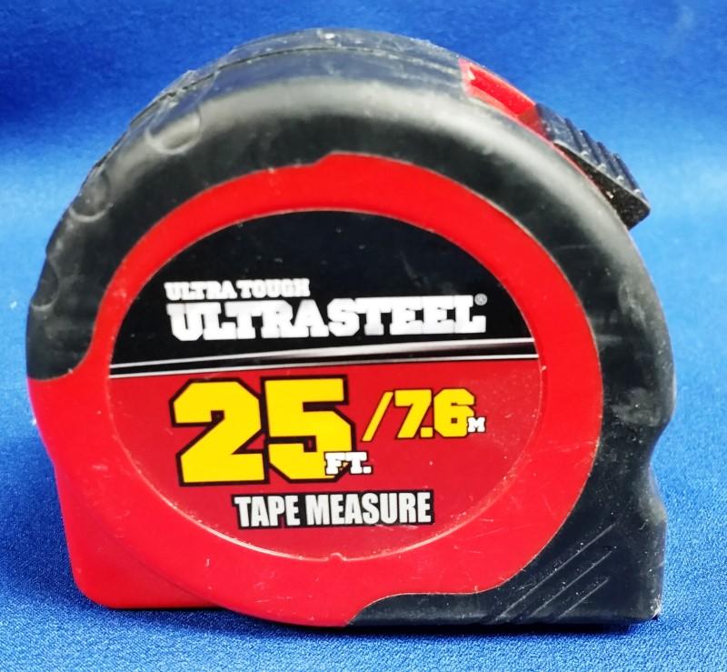 ULTRA STEEL 25FT TAPE MEASURE
