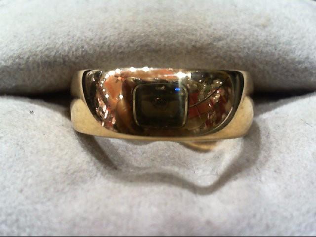 Lady's Gold Wedding Band 14K Yellow Gold 7.2g Size:8
