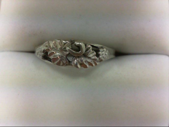 Lady's Silver Ring 925 Silver 1.7g Size:8