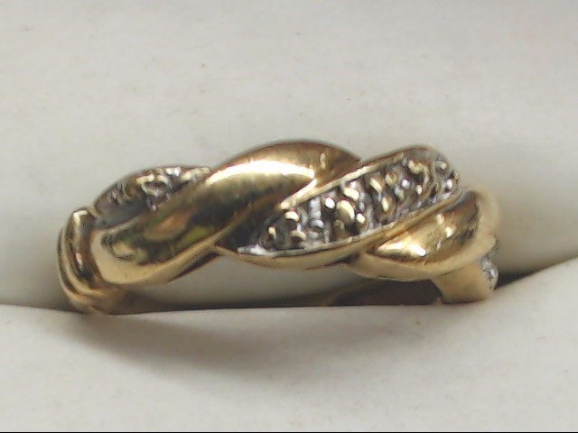Lady's Gold Ring 10K Yellow Gold 2.2g Size:5