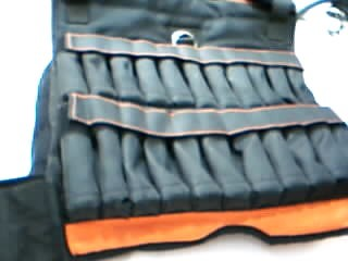 FITNESS ESSENTIALS Exercise Equipment GEAR 40 LB WEIGHTED VEST