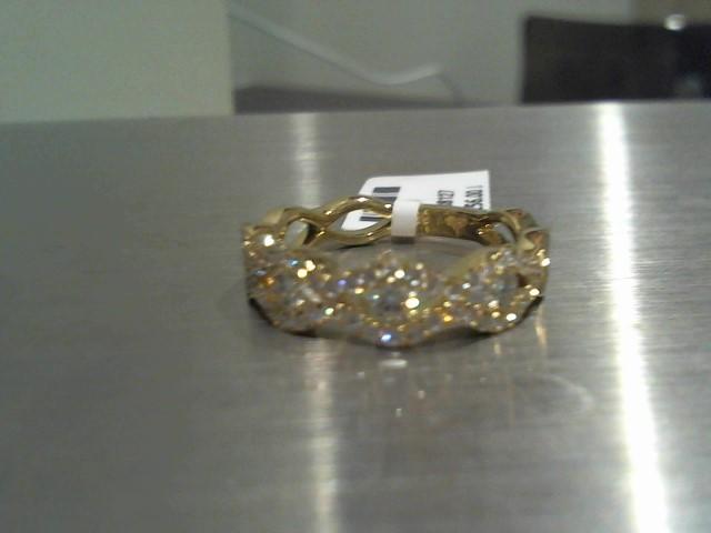 Lady's Gold Wedding Band 14K Yellow Gold 4.1g
