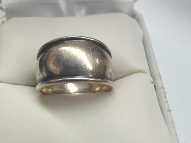 Lady's Silver Ring 925 Silver 5.1g Size:5.5