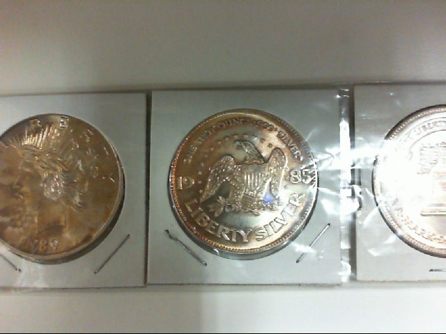 3- .999 SILVER ROUNDS