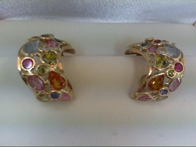 Gold Earrings 18K Yellow Gold 13.39g