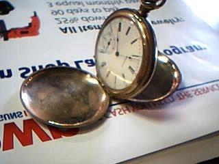 WALTHAM Pocket Watch 15 JEWEL POCKET WATCH 14K Yellow Gold 74.4g
