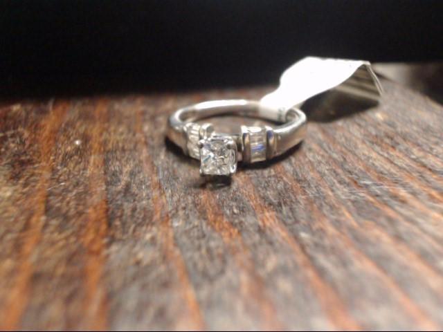 Lady's Platinum-Diamond Wedding Band 7 Diamonds .50 Carat T.W. 950 Platinum