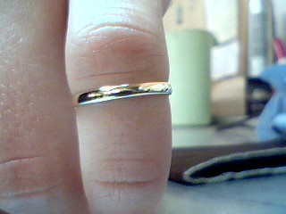 Lady's Gold Ring 10K Yellow Gold 0.91g