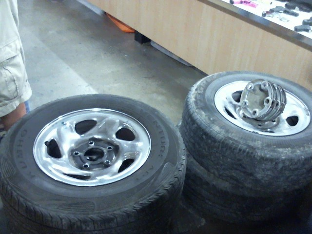 DODGE Wheel FACTORY RIMS WITH TIRES