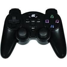 DGPS3-1387; PS3 RADIUM RUMBLE WIRED CONTROLLER BLACK