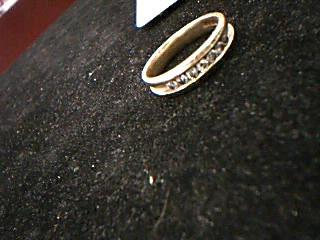 Lady's Diamond Engagement Ring 7 Diamonds .49 Carat T.W. 14K Yellow Gold 6.8g