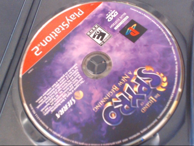 THE LEGEND OF SPYRO A NEW BEGINNING SONY PLAYSTATION 2