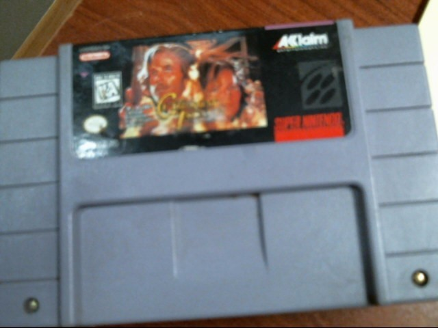 SUPER NINTENDO: CUT THROAT ISLAND