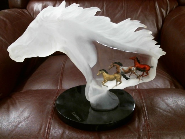 K. CANTRELL Collectible Plate/Figurine UNTAMED SPIRIT