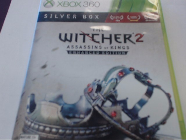 XBOX 360 THE WITCHER 2 ASSASINS OF KINGS