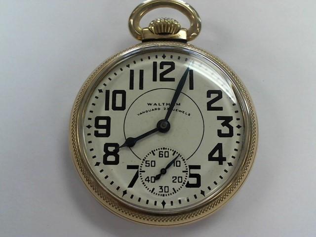 WALTHAM Pocket Watch 23 JEWELS POCKET WATCH