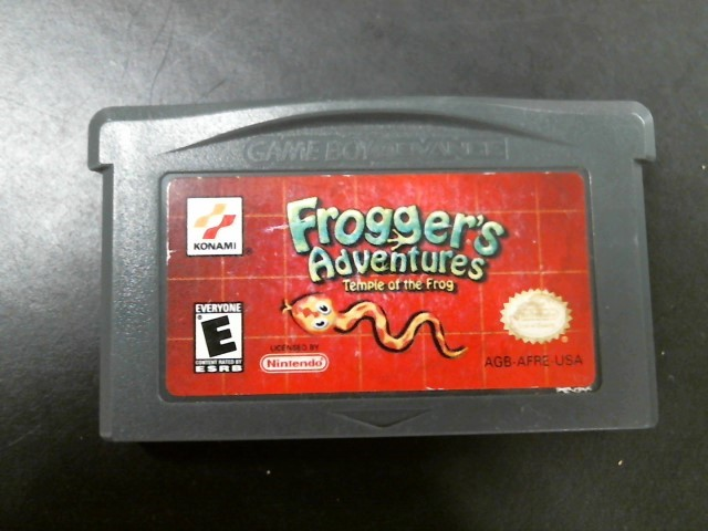 NINTENDO Nintendo GBA FROGGERS ADVENTURES: TEMPLE OF THE FROG (GBA 2001)