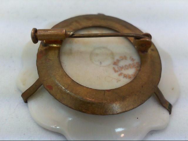 Gold Brooch Antique Gold Filled 12.2g