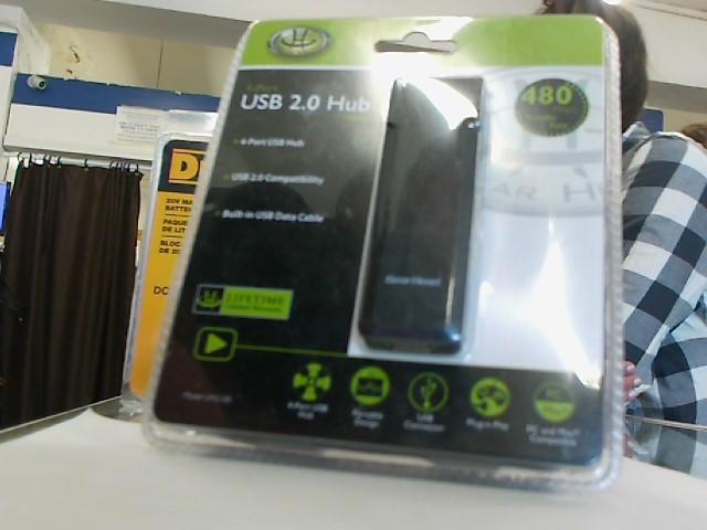 GEAR HEAD USB 2.0 HUB