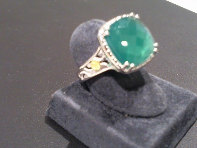Lady's Silver Ring 925 Silver 5.9g