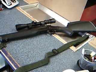 ROSSI FIREARM Rifle BRAZTECH S20243RBS