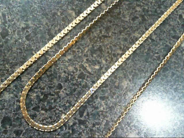 Gold Chain 14K Yellow Gold 4.4g