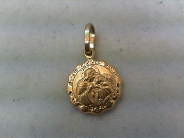 Gold Charm 14K Yellow Gold 2.5g