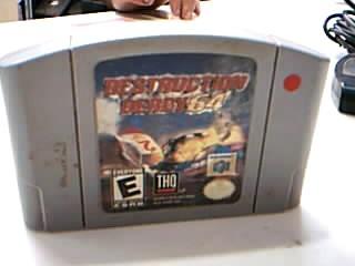 NINTENDO Nintendo 64 Game DESTRUCTION DERBY 64