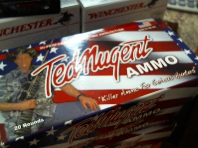 TED NUGENT AMMO Ammunition .308 WIN 180 GR