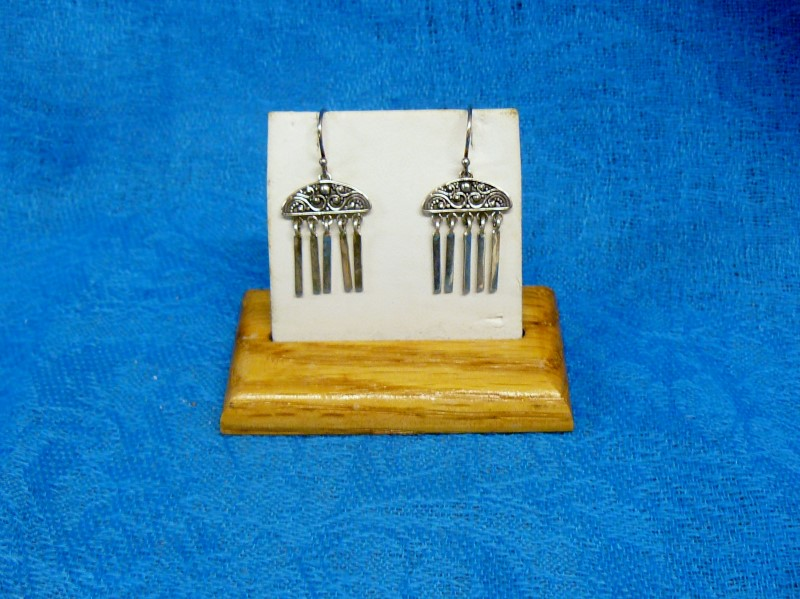 Silver Earrings 925 Silver 2.1dwt