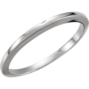 Lady's Gold Ring 14K White Gold 1.57g