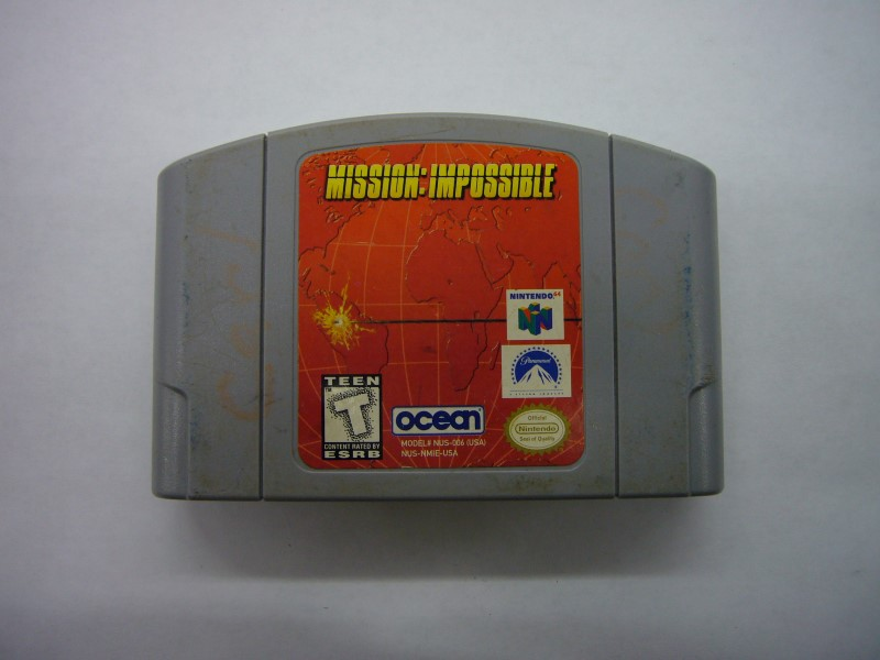 NINTENDO 64 Game MISSION IMPOSSIBLE *CARTRIDGE ONLY*