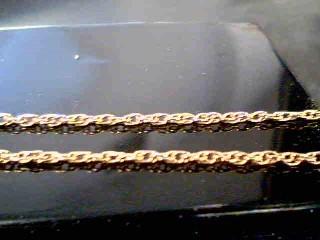 "18"" Gold Singapore Chain 14K Yellow Gold 2.3g"