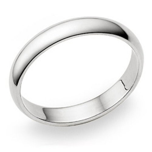 Gent's Silver Wedding Band 925 Silver 4.1g Size:13