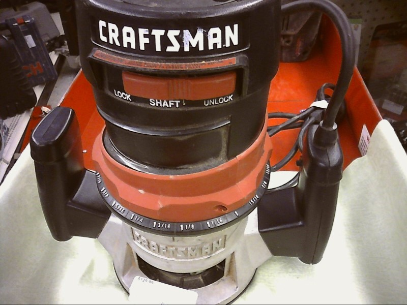 CRAFTSMAN 315.175040 25000RPM ROUTER W/RED CASE