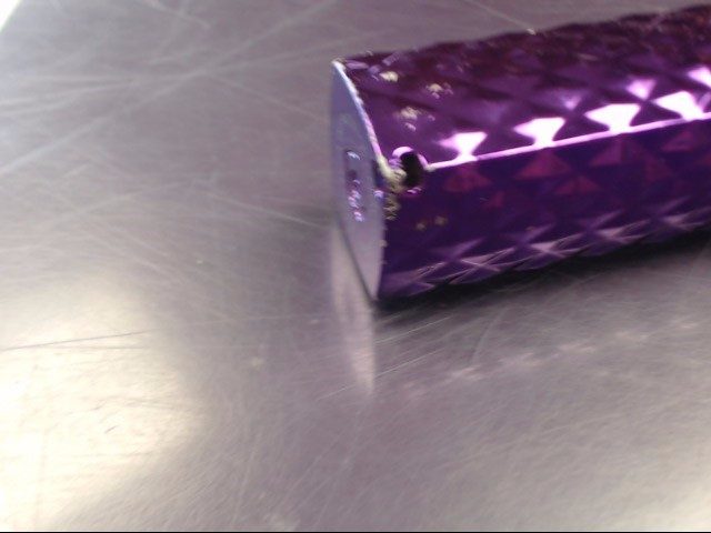 "Celltronix ""Lady Power"" Purple Portable Power Bank w/ LED Flashlight"