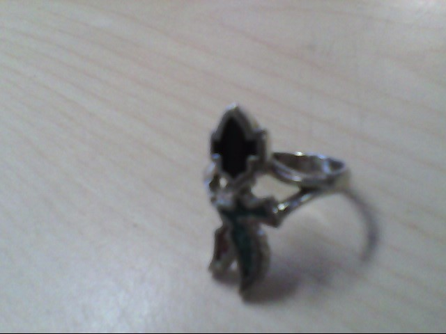 Lady's Silver Ring 925 Silver 4g Size:8.5